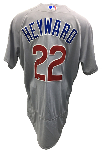 Photo of Jason Heyward Autographed Jersey