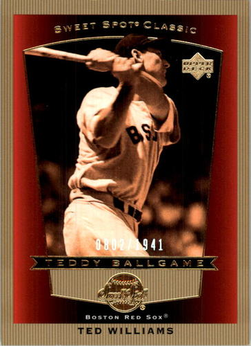 Photo of 2003 Sweet Spot Classics #106B Ted Williams TB