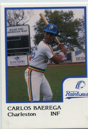 Photo of 1986 Charleston Rainbows ProCards #1 Carlos Baerga