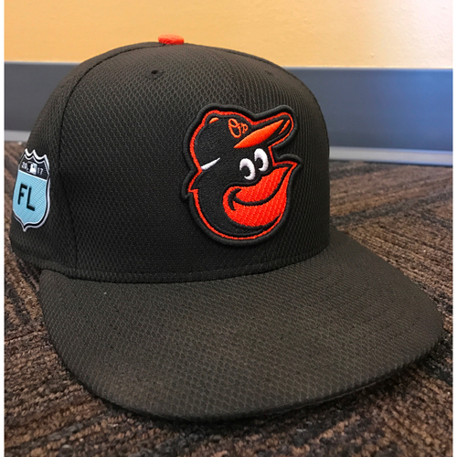 Photo of #3 - 2017 Spring Training Hat: Team-Issued