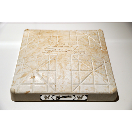 Photo of Tigers Hurricane Relief Auction: Game-Used 3rd Base - WAS vs. MIL - 9/3/2017 - Used during innings 1-9.