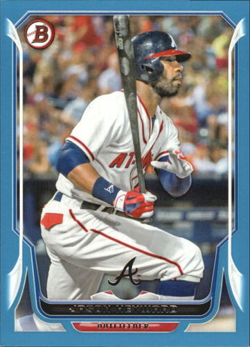 Photo of 2014 Bowman Blue #202 Jason Heyward Cubs post-season
