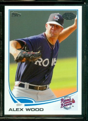 Photo of 2013 Topps Pro Debut #76 Alex Wood -- Dodgers post-season