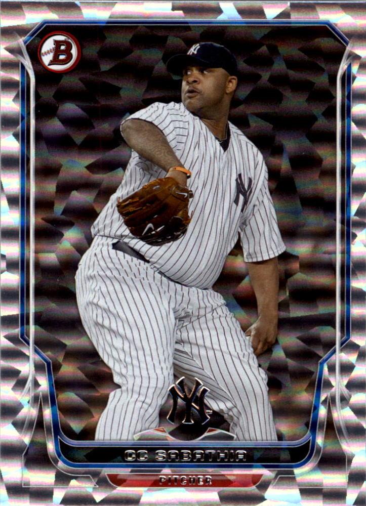 2014 Bowman Silver Ice #51 CC Sabathia -- Yankees post-season