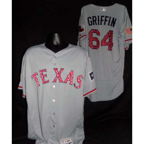 Photo of A.J. Griffin 2017 Team-Issued Jersey