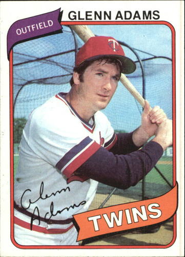 Photo of 1980 Topps #604 Glenn Adams