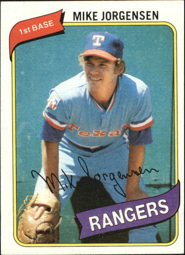 Photo of 1980 Topps #213 Mike Jorgensen DP