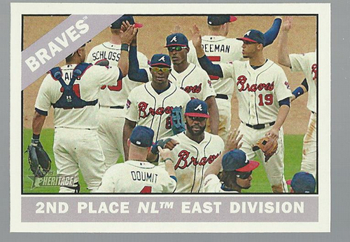 Photo of 2015 Topps Heritage #326 Atlanta Braves