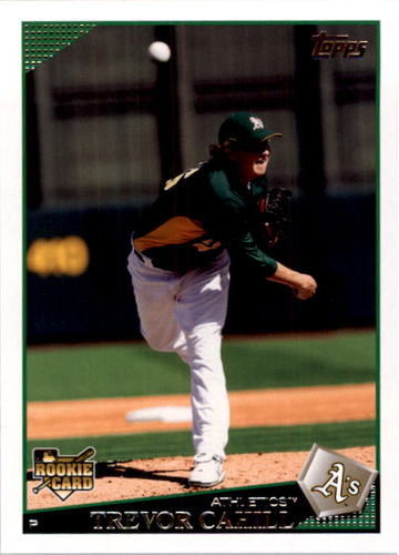 Photo of 2009 Topps #403 Trevor Cahill RC