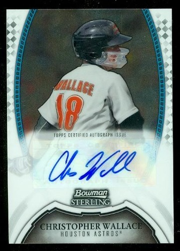 Photo of 2011 Bowman Sterling Prospect Autographs #CW Christopher Wallace