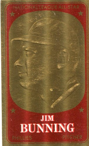 Photo of 1965 Topps Embossed #17 Jim Bunning