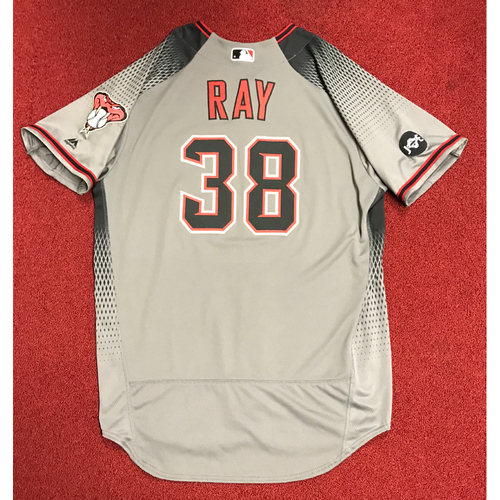 Photo of Robbie Ray Team-Issued Road Jersey