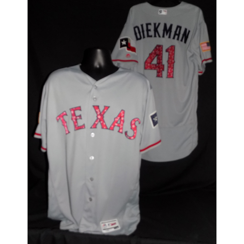 Photo of Jake Diekman 2017 Team-Issued Jersey