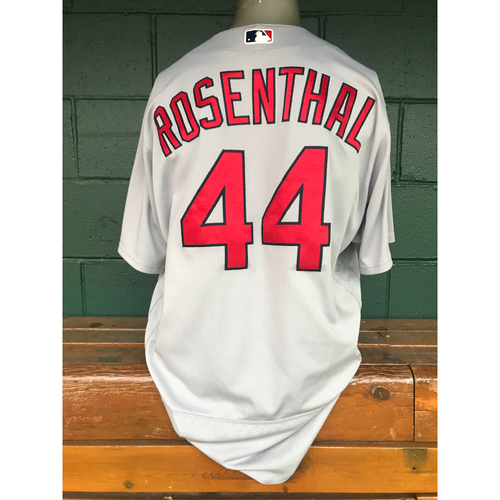 Cardinals Authentics: Trevor Rosenthal Team Issued Road Grey Jersey