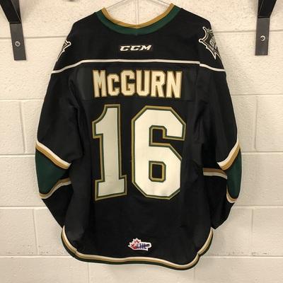 Sean McGurn Black Jersey