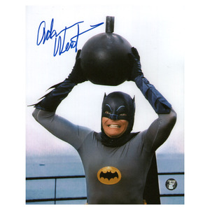 Adam West Autographed 8X10 Photo (Batman)