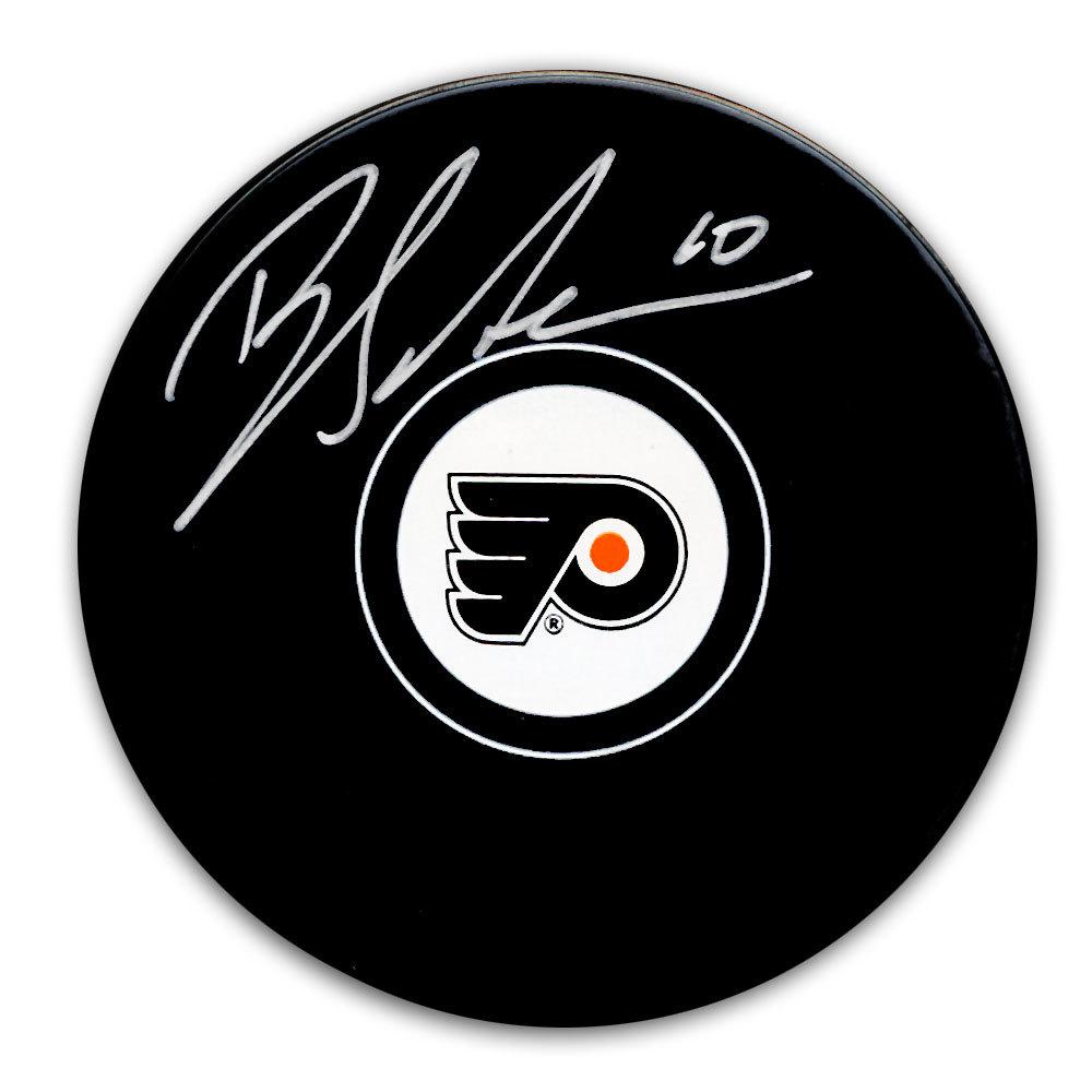 Brayden Schenn Philadelphia Flyers Autographed Puck