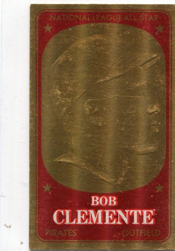 Photo of 1965 Topps Embossed #19 Roberto Clemente