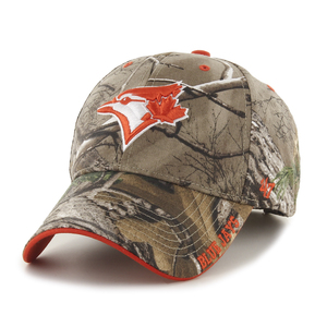 Toronto Blue Jays Realtree Frost MVP Camo Adjustable Cap by '47 Brand