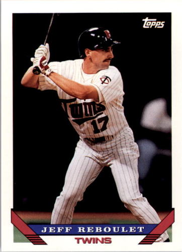 Photo of 1993 Topps #172 Jeff Reboulet