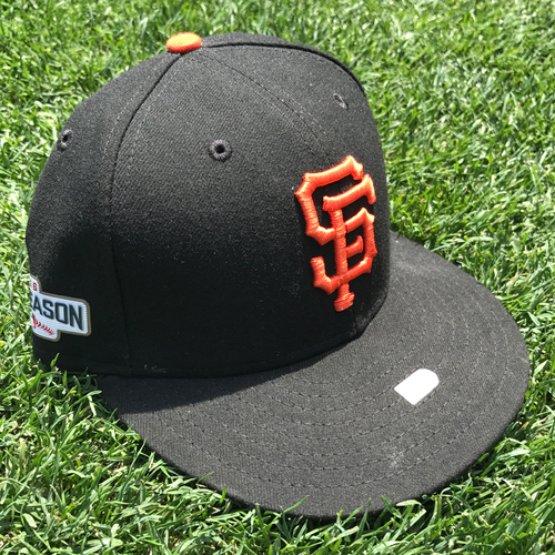 Photo of San Francisco Giants - Team Issued Postseason Cap - Jake Peavy