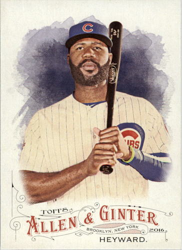 Photo of 2016 Topps Allen and Ginter #156 Jason Heyward Cubs post-season