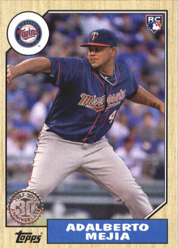 Photo of 2017 Topps Update '87 Topps #US8750 Adalberto Mejia