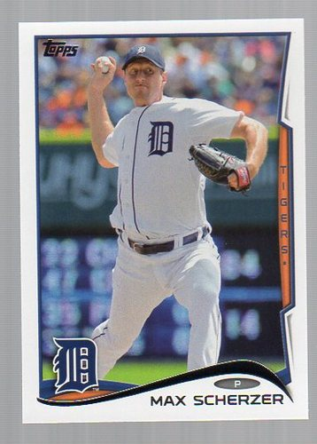Photo of 2014 Topps #297A Max Scherzer