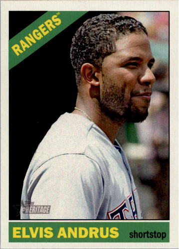 Photo of 2015 Topps Heritage #327 Elvis Andrus