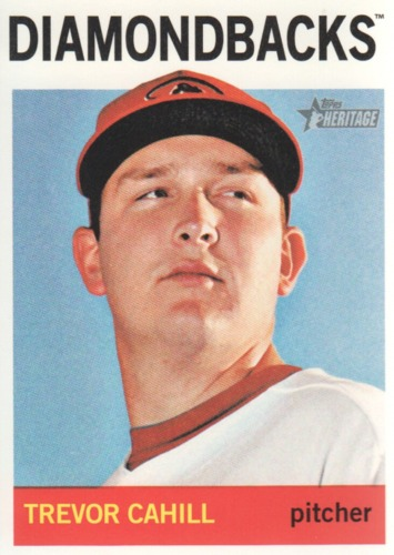Photo of 2013 Topps Heritage #292 Trevor Cahill