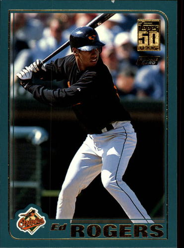 Photo of 2001 Topps Traded #T246 Ed Rogers RC