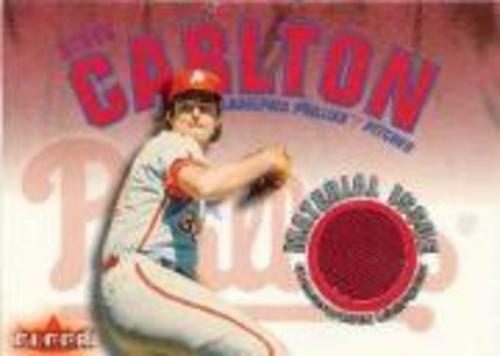 Photo of 2001 Fleer Genuine Material Issue #SC Steve Carlton SP *