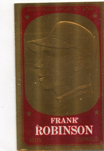 Photo of 1965 Topps Embossed #22 Frank Robinson