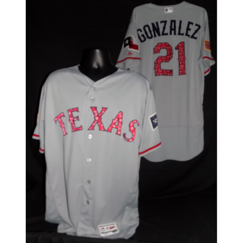 Photo of Chi Chi Gonzalez 2017 Team-Issued Jersey