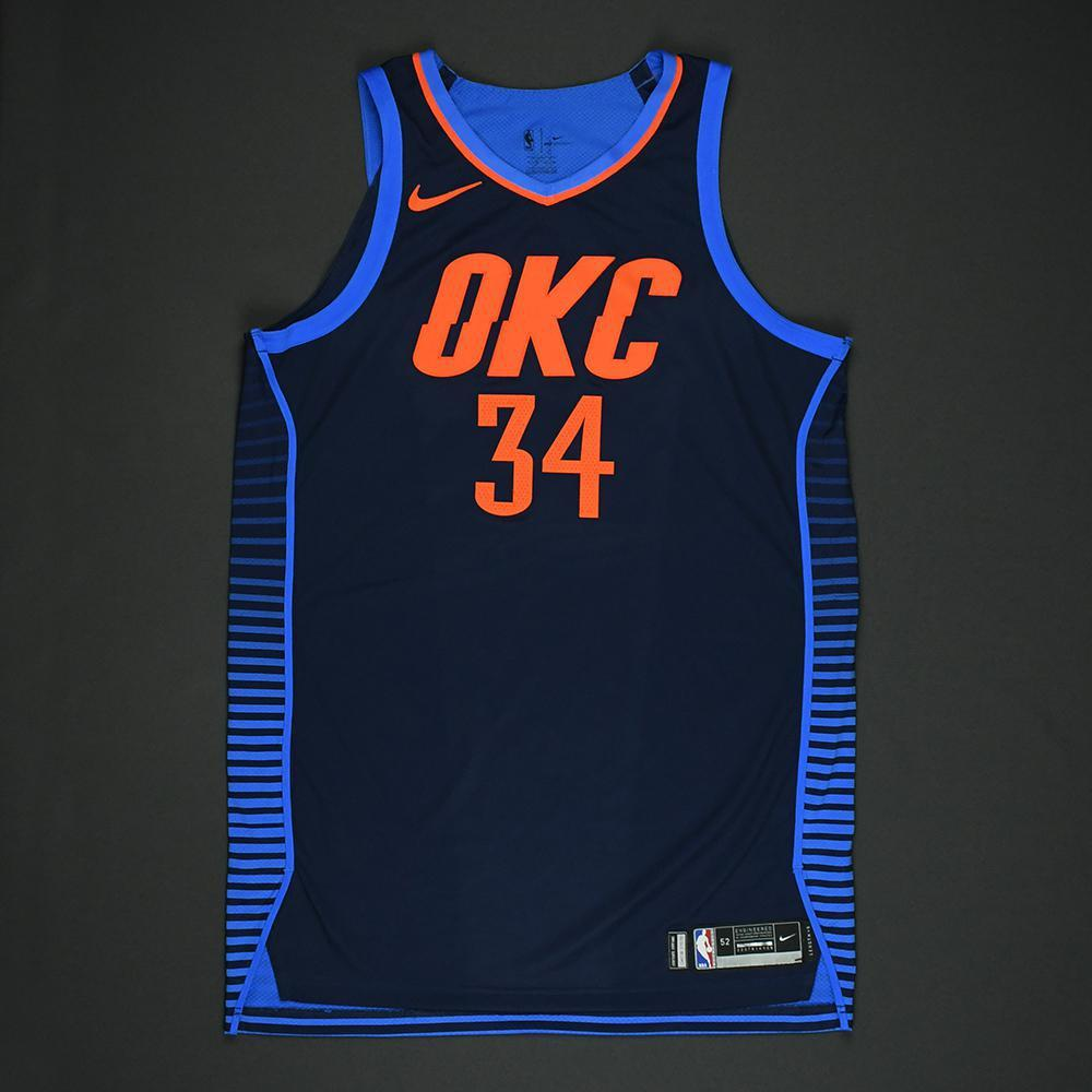Josh Huestis - Oklahoma City Thunder - NBA Christmas Day '17 Game-Worn Jersey