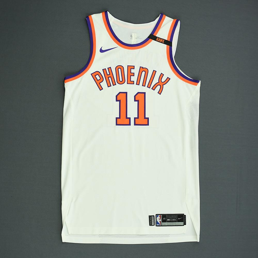 Brandon Knight - Phoenix Suns - Game-Issued Classic Edition 1968-73 Home Jersey  - 2017-18 Season