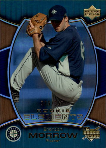 Photo of 2007 Upper Deck Elements #160 Brandon Morrow RC