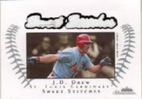 Photo of 2003 Fleer Showcase Sweet Stitches Game Jersey #JD J.D. Drew/899
