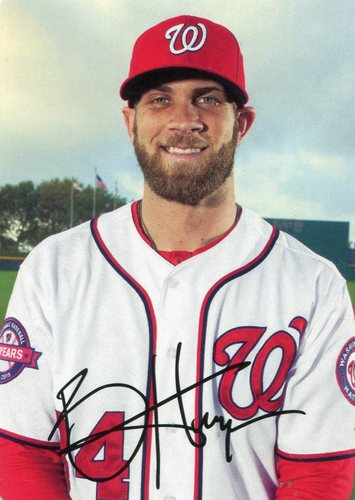 Photo of 2016 Topps Archives '69 Topps Super  Bryce Harper
