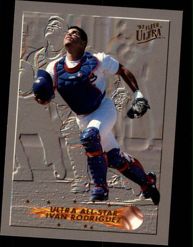 Photo of 1993 Ultra All-Stars #11 Ivan Rodriguez