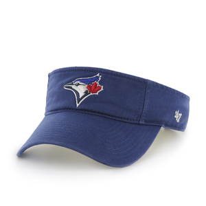 Toronto Blue Jays Clean Up Adjustable Visor Royal by '47 Brand