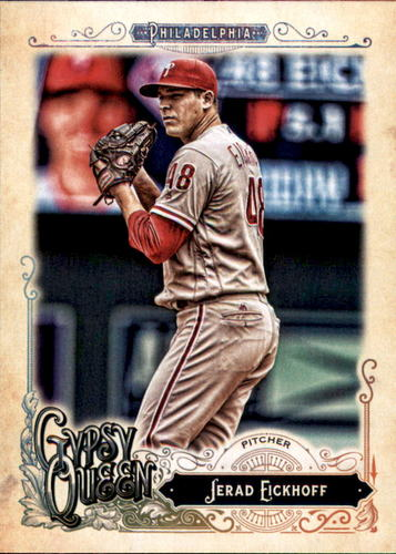 Photo of 2017 Topps Gypsy Queen #123 Jerad Eickhoff