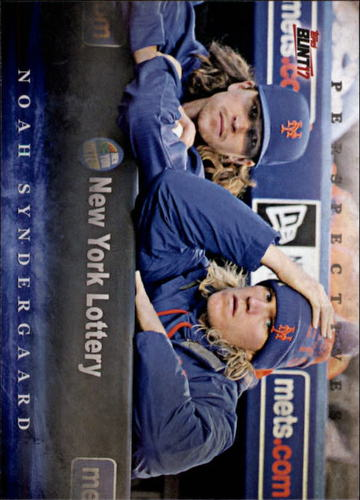 Photo of 2017 Topps Bunt Perspectives #PNS Noah Syndergaard