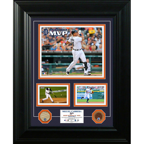 Photo of Detroit Tigers Miguel Cabrera 2X MVP Collectible