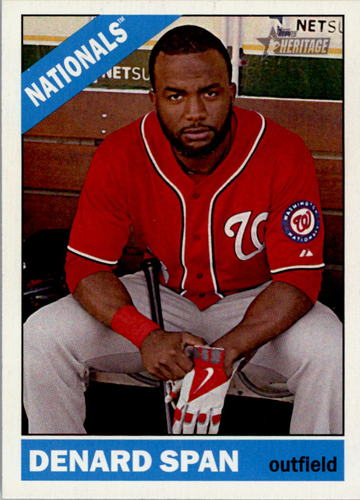 Photo of 2015 Topps Heritage #328 Denard Span