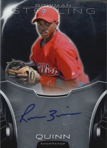 Photo of 2013 Bowman Sterling Prospect Autographs #RQ Roman Quinn