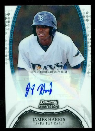 Photo of 2011 Bowman Sterling Prospect Autographs #JHA James Harris