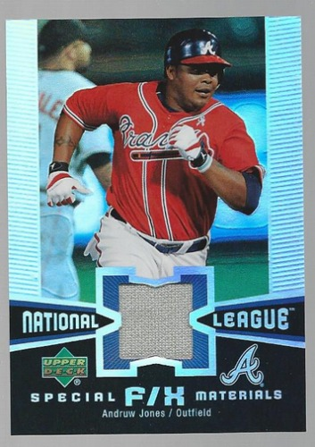 Photo of 2006 Upper Deck Special F/X Materials #AJ Andruw Jones Jersey