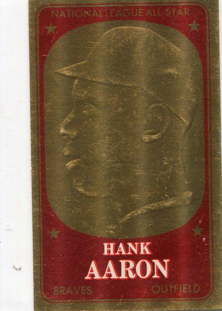 1965 Topps Embossed #59 Hank Aaron