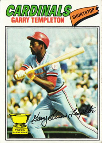 Photo of 1977 Topps #161 Garry Templeton RC